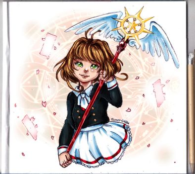 Sakura Card Captors - Clear Card by Rumay-Chian