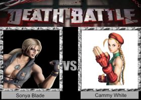 DEATH BATTLE Idea Sonya VS Cammy by JefimusPrime