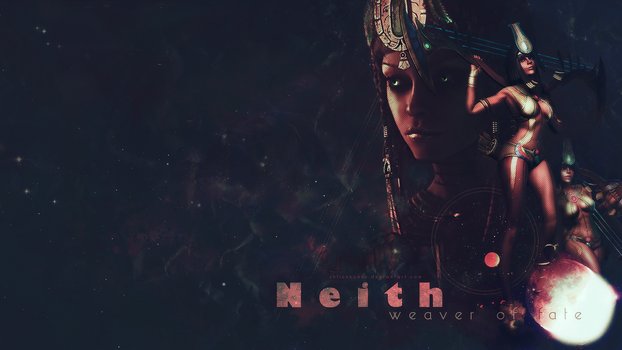 SMITE - Neith, Weaver of Fate by Shlickcunny