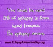 It could be you Seizure and TBI Aware by 4EpilepsyAwareness