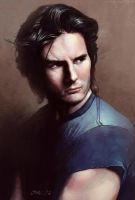Tom Cruise by drawinguy