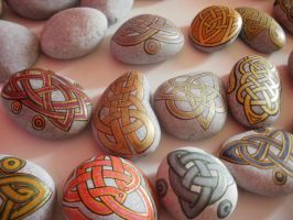painted rocks by gordissima
