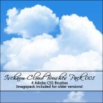 Ischarm Cloud Brushes 001 by ischarm-stock