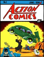 Action comics..huh? by NicoBlue