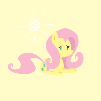 New Fluttershy by Elslowmo