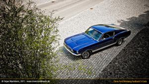 Blue S-Code Mustang I by AmericanMuscle