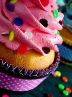 Confetti Faux Cupcakes 04 by CreativeAbubot