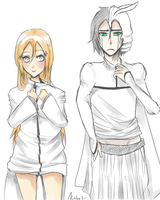 Day 6 - UlquiHime OTP Challenge- Switching Clothes by keitoz