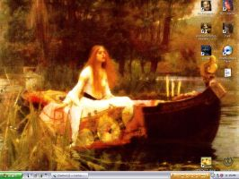 The Lady of Shalott by scarlet-starlet