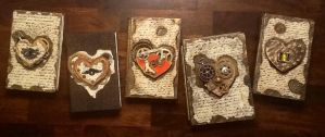 Clockwork heart journal collection by ArtbugCarl
