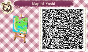 Map of Yoshi by GumballQR