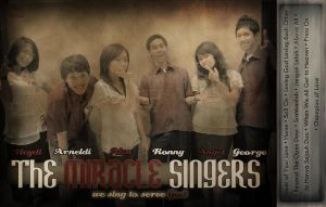 The Miracle Singers CD by theXIVdesigns