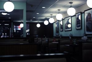 Lonely Diner. by Brieana