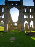 Rievaulx Abbey  Yorkshire by davepphotographer