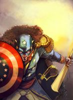 Marvel We the People...- Commissar America by El-Andyjack