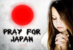 Pray for Japan by spectrumcolor
