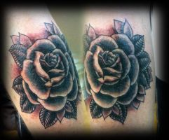 Rose tattoo 1 by jerrrroen