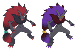 Pokemon: Zoroark by Kidel