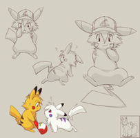 Ashchu Collage by blackpersian
