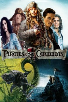 Pirates of the Caribbean: The Complete Saga Poster by Kubini