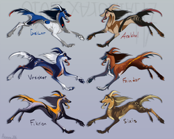 Canine adopts by Alaiaorax