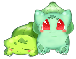 [001] Bulbasaur! by Momilkie