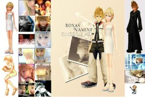 Roxas and Namine KH Wallpaper3 by Aly-McLain