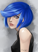 Marie Kanker Speed Paint by Flesh-Odium