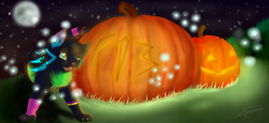Happy late Halloween by Faustina13