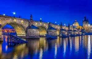 Blue moment | Charles Bridge by Impo5siblr