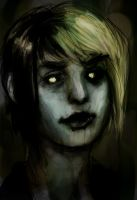 Zombie Coffee Girl by TheBoyofCheese