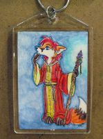 Thomas Mage Fox Keychain Finished by ImaginaryFox