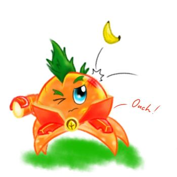 PvZ Heroes Doodle: Citron by JackieWolly