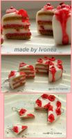 Cake Fimo by Ivonea