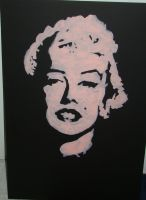 Marilyn Monroe Painting by tinabob