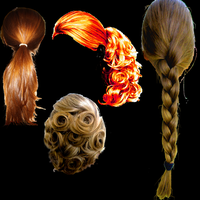 Pony Hair Brushes Photoshop by photoshopweb