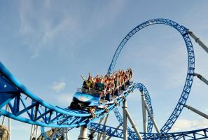 Blue Fire - Europapark Rust Germany by Phi1997