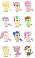 Fluttershy Shipping Adopts (CLOSED) by srbarker