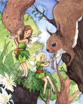 Forest Helpers by MaiKemble