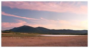 Lake Davis and Smith Peak by madrush08