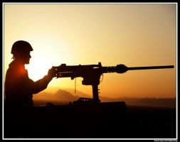 A Soldiers Sunrise by rlgphoto