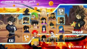 DBZ OC Battle Royale....console Style by Kai1984