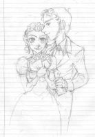 Victorian couple 03 by grimkim