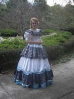 Victorian Amaranth dress 2008 by MorbidPrincess122