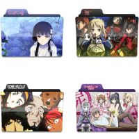 Anime folder icons 9 by tinpopo