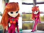 Asuka Langley Pullip Doll by BlackMageAlodia