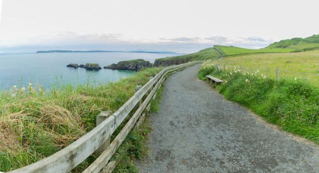 Carrick-a-Rede II by jvrichardson