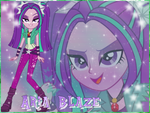 Aria Blaze Wallpaper by NatouMJSonic