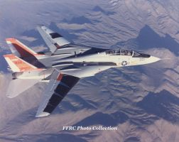 F-14 NASA 834 Laminar Flow Research Aircraft by fighterman35