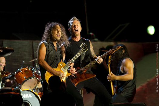 Metallica Live in Istanbul II by curan
